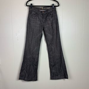 7 for all mankind ginger dark wash jeans size 27